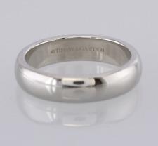 Tiffany & Co. Wedding Band Ring Platinum