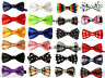 Kids Boys Children Satin Wedding Party Adjustable PreTied Bow tie Quality Dickie