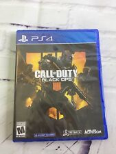 Call of Duty Black Ops 4 Sony PlayStation 4 2018 Sealed New FREE SHIPPING