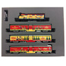 Kato 106-2015 F40PH Operation North Pole Christmas Train 4 Cars Set - N