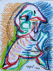drawing modern art, Karel Appel