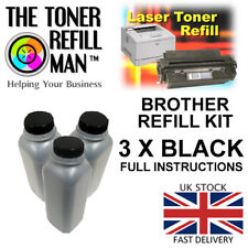 Toner Refill Kit Compatible with Brother TN-2310, TN2310 Cartridge 3 X Bottles