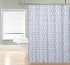 Regal Home Collections Charlton Printed Fabric Shower Curtain 70 x 72-Inch Spice