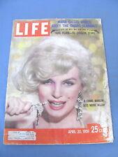 LIFE MAGAZINE APRIL 20 1959  MARILYN MONROE COVER MARIA CALLAS IOWA STATE PRISON