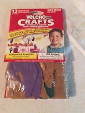 Velcro Crafts Hanger clips western, new in package, removable adhesive