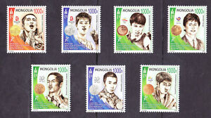 Mongolia 2020 Olympic Medal Winners in Boxing MNH issued in 2021 MNH
