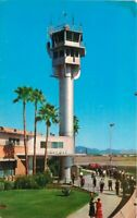Airport Tubular Control Tower Sky Harbor Phoenix Arizona 1950s Postcard 5312