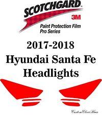 3M Scotchgard Paint Protection Film Pro Series Fits 2017 2018 Hyundai Santa Fe