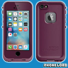 Genuine Lifeproof iPhone SE 5 5S Frē Fre case cover waterproof Crushed Purple