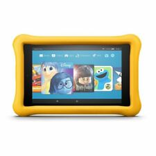 """New Fire HD 8 Kids Edition Tablet, 8"""" HD Display, 32 GB, Yellow Kid-Proof Case"""