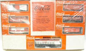 K-Line K1907 Coca-Cola O Gauge Diesel Train Set NIB
