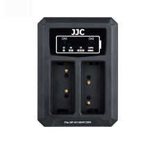 JJC USB Dual Battery Charger for Fujifilm XT2,XT30,X-T20,XT100,X100F,X-T3(W126)
