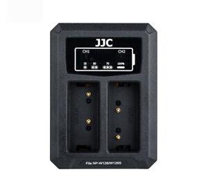 JJC USB Dual Battery Charger f Fujifilm XS10,XT2,XT30,XT20,XT200,X100V,XT3(W126)