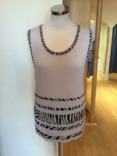 Faber Top Size 12 BNWT Sand Black RRP £98 Now £25