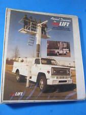 AERIAL AERO LIFT TV-II VERTCAL WORK PLATFORM MANUAL