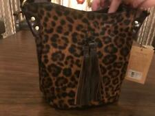 New ListingPatricia Nash Handbag - Leopard Haircalf Collection Torresina Bucket