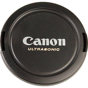 Mint Canon 77mm Snap-On Lens Cap E-77U for Canon EOS Rare * Out of produuction