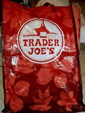 Trader Joe's Red Hibiscus Reusable Bag DISCONTINUED