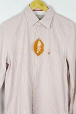 Mens JACK WILLS Shirt UNIVERSITY STRIPED CASUAL Long Sleeve SLIM Medium  P40
