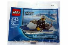 "*NEW* 10 Bags Lego CITY POLICE BOAT Polybag 30002 ""BULK* Party Favors"