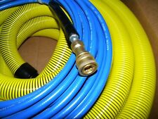 "Carpet Cleaning 50ft VACUUM & SOLUTION HOSES  1 1/2"" wand cuff connect"