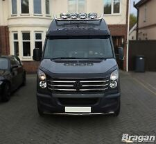 To Fit 14-18 Mercedes Sprinter Stainless Steel Front Bumper Spoiler Nudge Bar