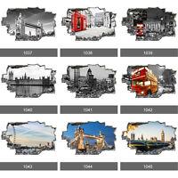 London City Skyline Landscapes 3D Art Wall Mural Photo Wallpaper Wall Stickers