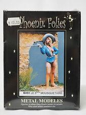 BX51 The Fifth Musketeer, Phoenix Folies, 80mm Metal Miniature, Brand NEW