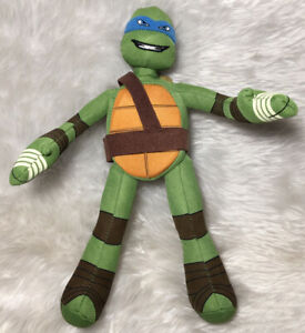 "Teenage Mutant Ninja Turtles ""Leonardo"" Plush Soft Toy Stuffed Toy 27cm 2014"