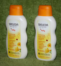 Weleda Baby Comforting Body Lotion, Calendula, 6.8 fl oz (400 ml) - 2 Bottles