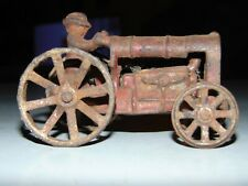 Vintage Cast Iron Arcade Tractor Toy