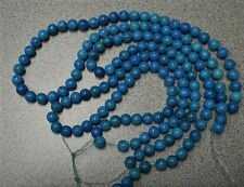 """SALE-3 STRAND 18"""" NATURAL FOSSIL STONE BEADS 8MM ROUND DYED FOR JEWELRY MAKING"""