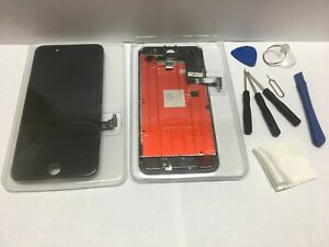 iPhone 7 PLUS BLACK Color  LCD  Touch Screen  Digitizer Assembly 3D TOUCH +TOOL