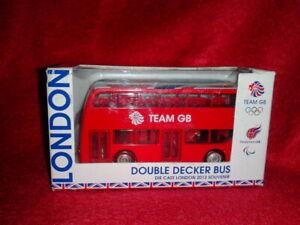 London 2012 Olympics - Team GB Double Decker Bus - Corgi TY62409