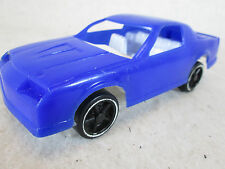 Vintage 1970's Gay Toys blue plastic Camaro toy sand box car
