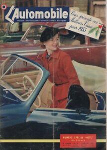 L'AUTOMOBILE 81 1953 2 TEMPS RENAULT 4CV PONS BOUSQUETNARDI 750 FORD COMETE