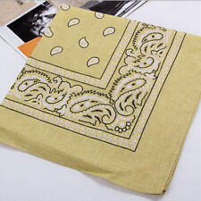 2017 HOT Bandanna Head Wear Hair Square Scarf Neck Wrist Wrap for Mens Womens
