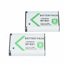 2 NP-BX1 Battery For SONY Cyber-Shot DSC-RX100 RX1 HX400V Vlog ZV1 X Type Camera