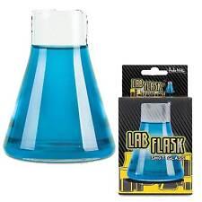 Realistic Mini--LAB FLASK SHOT GLASS--Novelty Bar Drink Mad Scientist Laboratory
