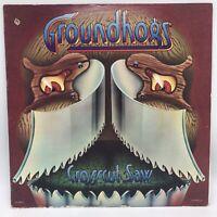 "The Groundhogs - Crosscut Saw, 12"" 33 rpm vinyl LP, UA-LA603-G 1976 USA VG+/VG+"