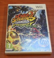 Nintendo WII MARIO STRIKERS CHARGED FOOTBALL  neuf  BLISTER VF