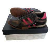GEOX Snake Schuhe Sneaker  J8312T  Gr. 26-37 NEU Turnschuhe Leder