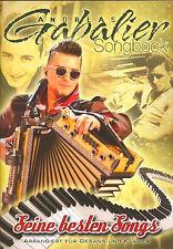 Andreas Gabalier Songbook - Seine besten Songs + Bleistift mit Musikmotiv