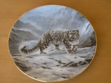 Fleeting Encounter World's Most Magnificent Cats Collector Plate Charles Fracé