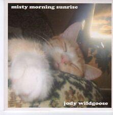 (DZ963) Jody Wildgoose, Misty Morning Sunrise - 2003 DJ CD