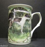 Whippet Dog By Mellor Fine Bone China Mug Cup Beaker