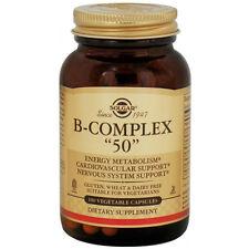 """Solgar B-Complex """"50"""" 100 caps"""
