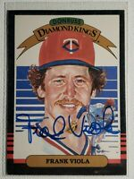 1985 Frank Viola Donruss DK Card Signed Twins Red Sox Mets Auto Autograph #17