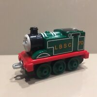 Thomas the Tank Engine Mattel die cast train take along Green 70th Anniversary