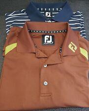 Mens Footjoy Golf Polo Shirts   -  Medium